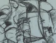 Charcoal drawing no.2) Montserrat