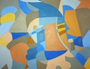 Acrylic painting, Montserrat