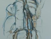 Acrylic drawing (no. 2) Montserrat