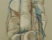 Acrylic & Posca pen drawing, Montserrat
