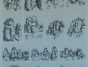 Posca pen drawings (series x 14) Montserrat