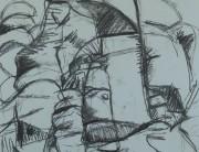 Charcoal drawing (no. 1) Montserrat